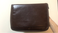 "Used Laptop Case 13"" Elegant Leather Brown  in Dubai, UAE"