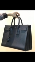 Used Saint Laurent small sac de jour in black in Dubai, UAE