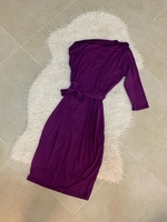 Used Purple size M side shoulder sleeve dress in Dubai, UAE