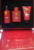 Used Original Ferrari Red 3Pcs Set 125ml in Dubai, UAE