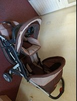 Used Baby duble  seat stroller. in Dubai, UAE
