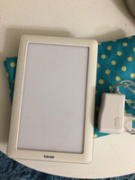 Light tablet unit with power cord