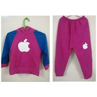 Used Kids Apple logo Tracksuit Hoodie trouser in Dubai, UAE