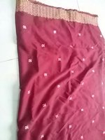 desi stole 2m x 90cm color mehroon