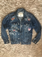 Used ORIGINAL ZARA JEAN JACKET..UNISEX..SZ M in Dubai, UAE