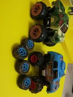 Mud breaker cars. Original