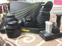 Used Nikon D5300 with lens in Dubai, UAE