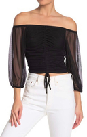 Used New off shoulder top size XL in Dubai, UAE