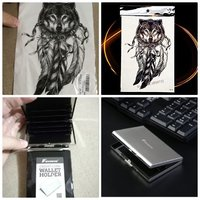 Used New anti RFID card holder+ free tattoo in Dubai, UAE