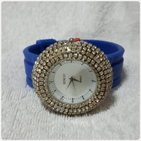 Used Fashionable blue Watch for Lady new.. in Dubai, UAE