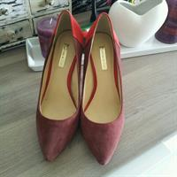 Used Louise Et Cie Burgundy/Red Leather Pumps 37 in Dubai, UAE