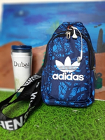 Used Adidas Chest Bag Blue/Dark Blue in Dubai, UAE