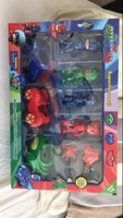 Used PJ Mask Cars & Action Figures Set in Dubai, UAE