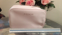 Used Cute coach cosmetic bag, original in Dubai, UAE