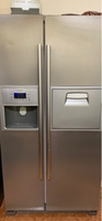 Used Siemens double door refrigerator  in Dubai, UAE
