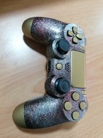 Used Ps4 custom controller silver red gold in Dubai, UAE