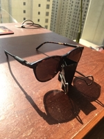 Used Original black Mont Blank sunglasses  in Dubai, UAE