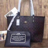 Coach Reversible Dark Color