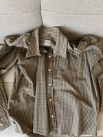 Used Men's shirt size L new without tags in Dubai, UAE