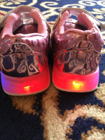 Used Girls lighting shoes 1 year old in Dubai, UAE