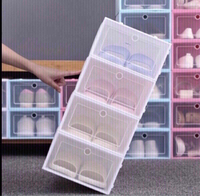 Used Transparent Drawer Shoe box ❤️ in Dubai, UAE