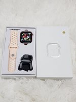 Used New colour smart watch w5 pink in Dubai, UAE