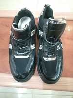 Used Black Sneaker shoes size 44 in Dubai, UAE