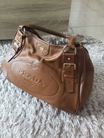 Used Prada leather bag  in Dubai, UAE