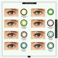 Used Contact Lens With Power And Plano WHL&RET in Dubai, UAE