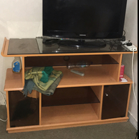 Used Tv Table/Stand/Cabinet Used For Few Years But In Very Good Condition. Dhs 200 If Delivery Done By Yourself! in Dubai, UAE