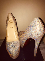 Used Christian Louboutin Crystal Embellished  in Dubai, UAE
