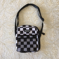 Used unisex checkered messanger bag (new) in Dubai, UAE