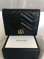 Used Original Gucci Marmont Black Wallet in Dubai, UAE