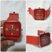 Red F.O.B watch for Men.