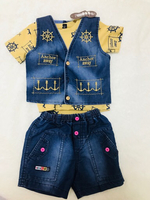 Used Baby boy tshirt jeans top coat combo  in Dubai, UAE