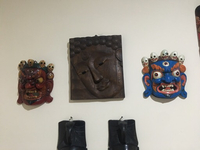 Used Himalayan Wooden Masks in Dubai, UAE