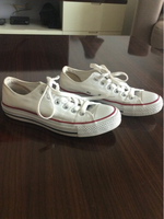 Used Converse white low heel in Dubai, UAE
