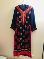 Used Party wear suit full embroidered  in Dubai, UAE
