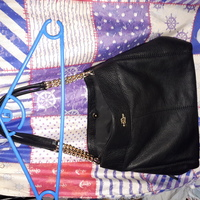 Used Coach bag-original (black) in Dubai, UAE