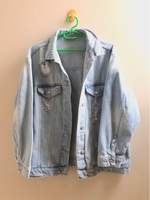 Used Lc wakiki jeans jacket size/ L/XL in Dubai, UAE
