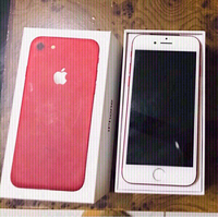 Used iPhone 7 product red 128gb💙 in Dubai, UAE