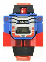 SKMEI Brand Kids LED Digital Children Watch Cartoon Sportjs Watch