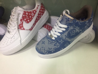 Used LV SUPREME shoes in Dubai, UAE