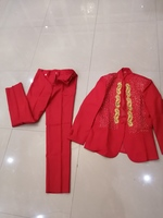 New red suit size M