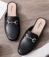 Used Slip over plain black shoes in Dubai, UAE