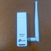 Used TP Link TL-WN722N v.3 wifi adapter 📶 in Dubai, UAE