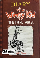 Used Diary of a wimpy kid the third wheel in Dubai, UAE