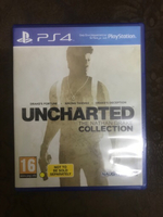 PS4 uncharted remastered 1,2 & 3 games