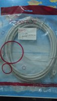 Used Network cable 3 meter + 1 HDMI cable in Dubai, UAE