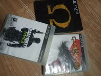 Used Ps3 Call of duty mwf2+STORM 3+God of War in Dubai, UAE